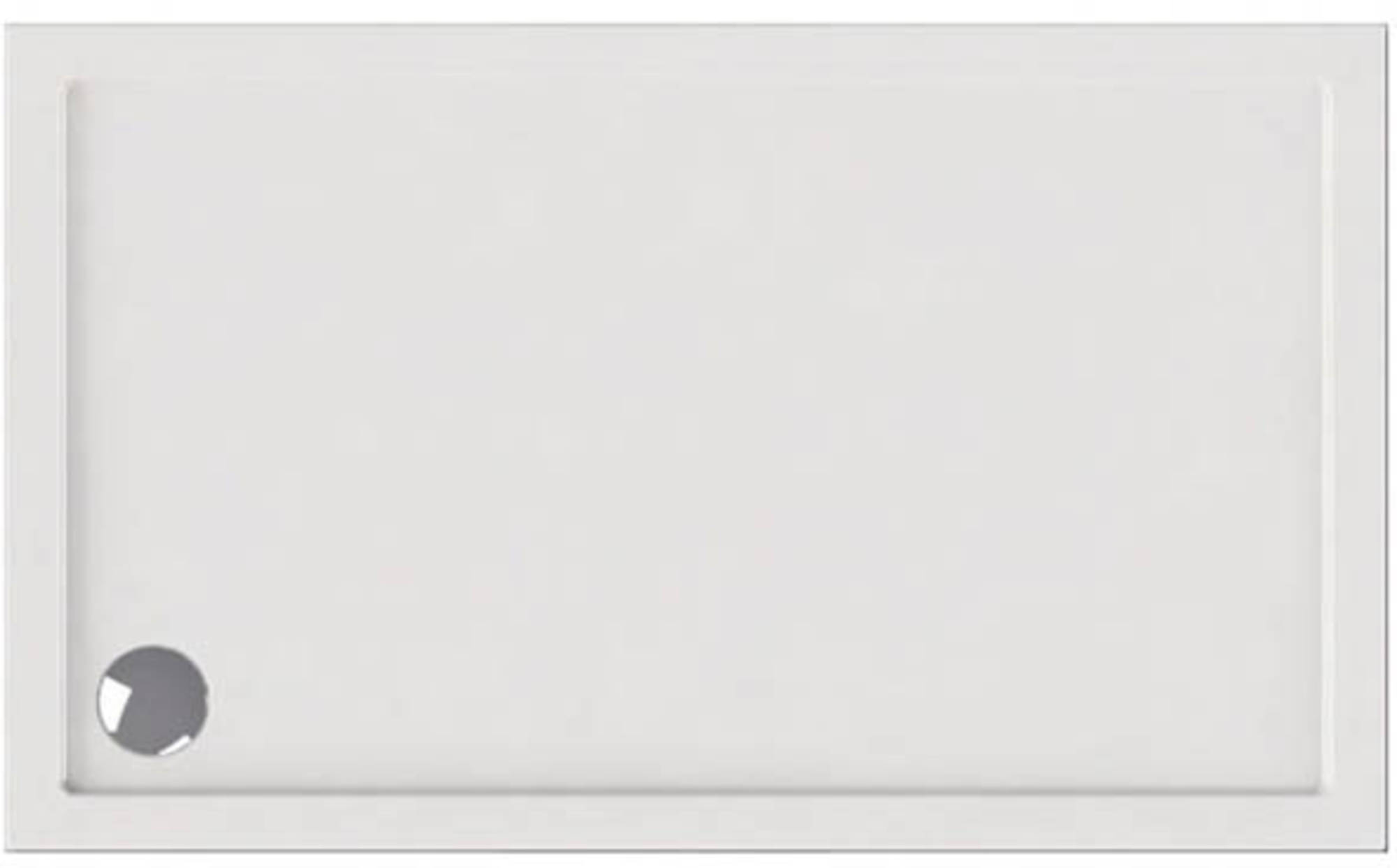 Ben Rivara Douchebak rechthoek 150x90cm Wit