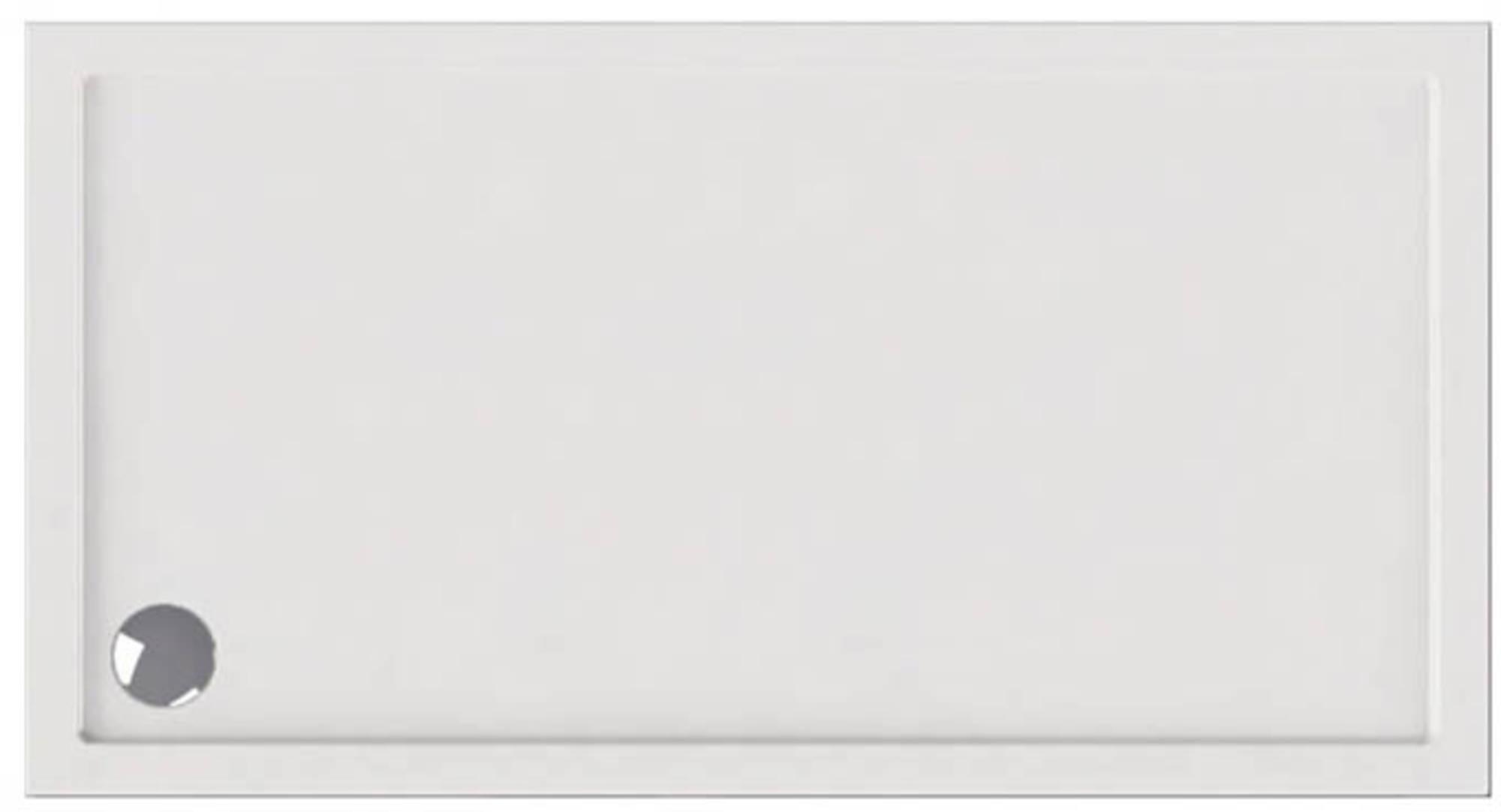 Ben Rivara Douchebak rechthoek 170x90cm Wit