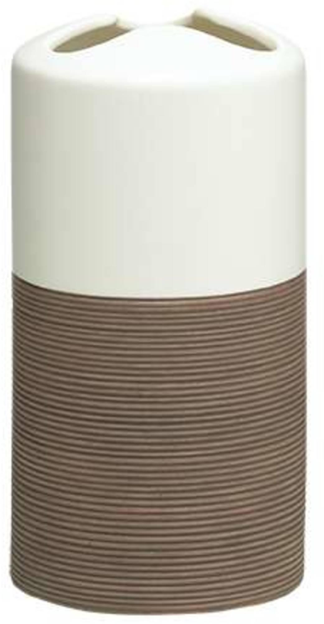 Sealskin Doppio tandenborstelhouder 7x14cm porselein bruin