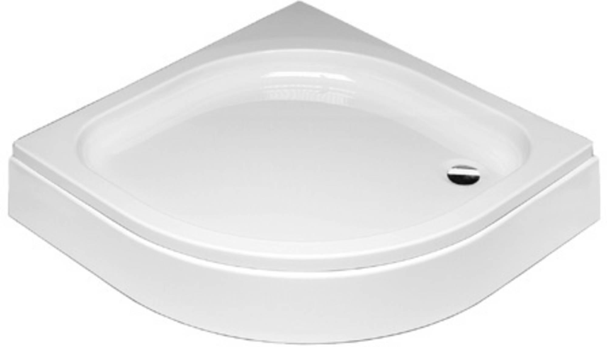 Sealskin Get Wet Optimo douchebak 1/4 rond 900x900mm met voorpaneel wit