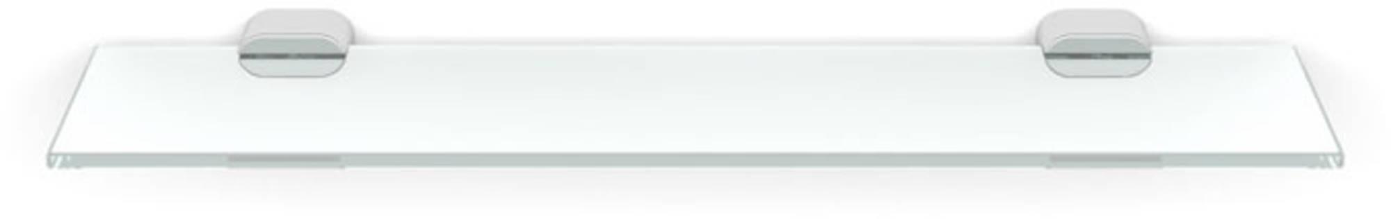 Ben Metropool Planchet 45x12 cm Kristalglas/Chroom