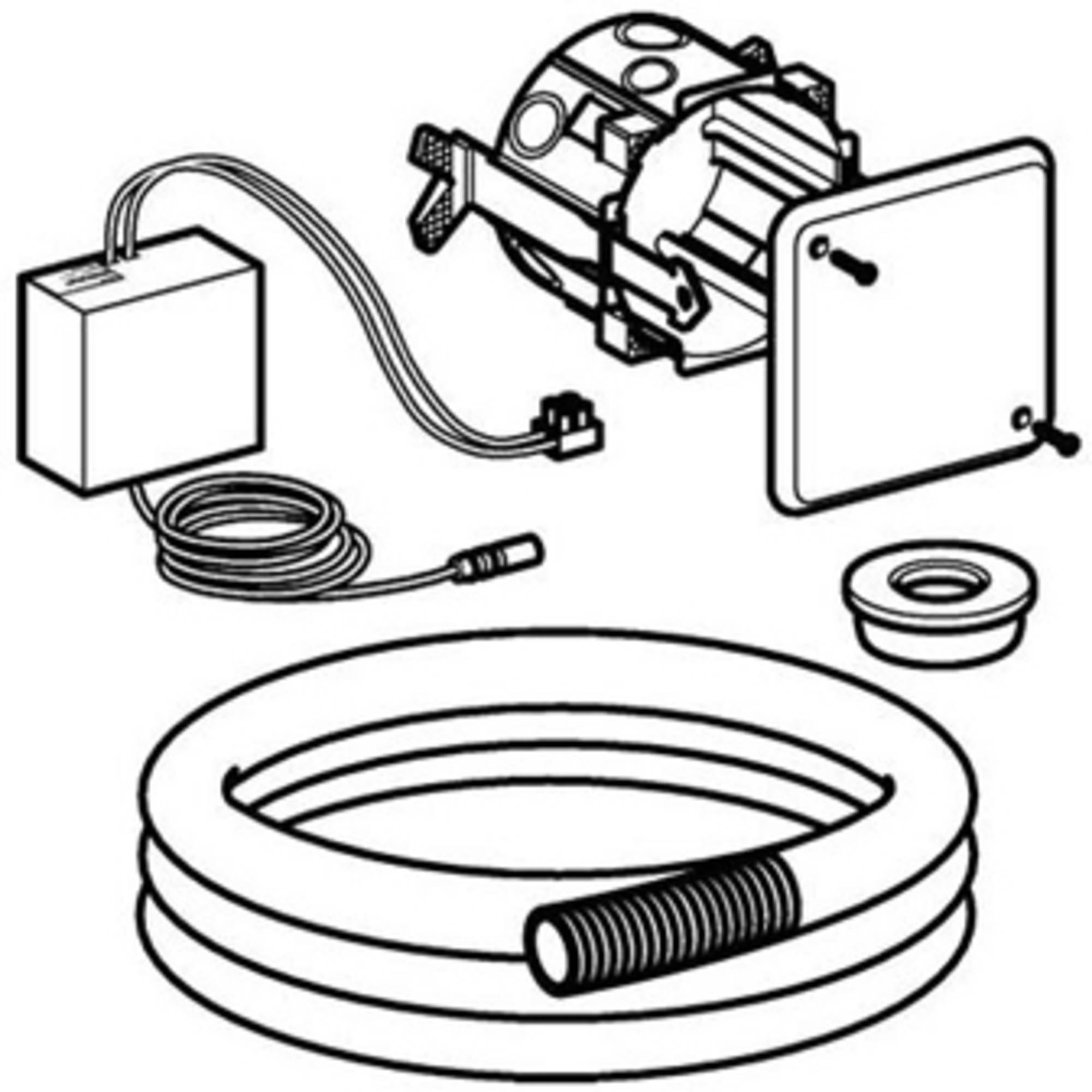 Geberit inbouwset voor hy-tronic wc sturing 230v