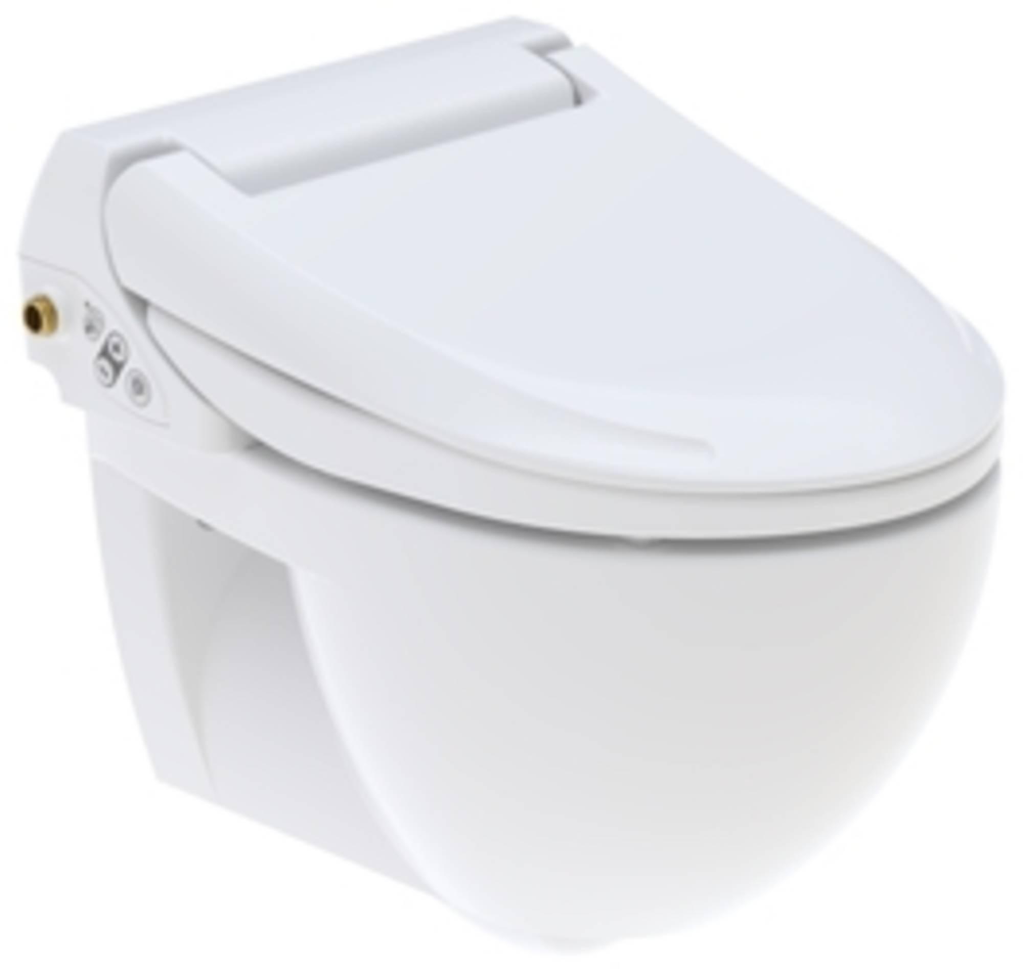 Geberit AquaClean 4000 set zitting met wand-wc