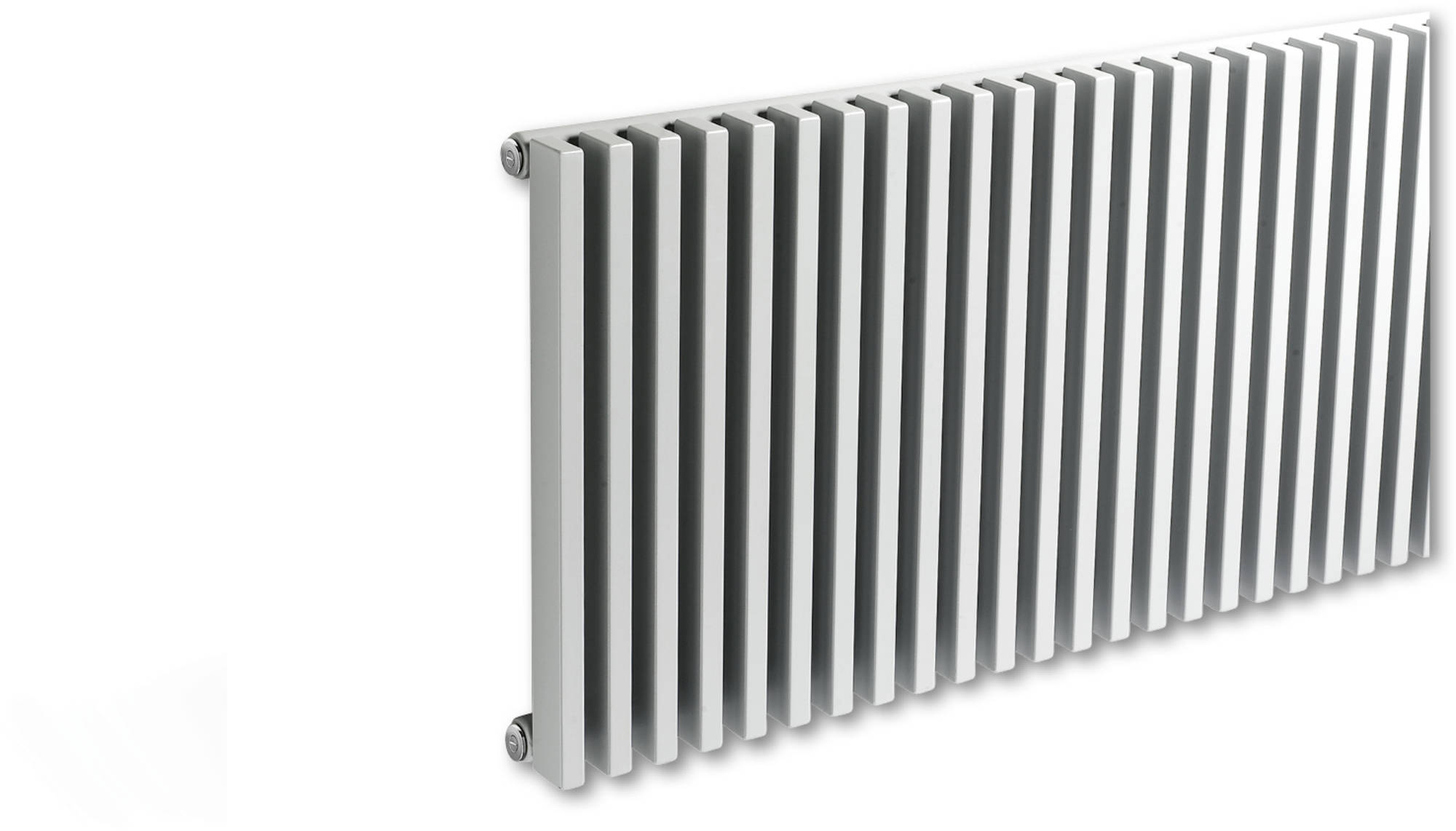 Vasco Zana Horizontaal ZH-1 Designradiator 38,4x50 cm As=0018 N500 Mist Wit