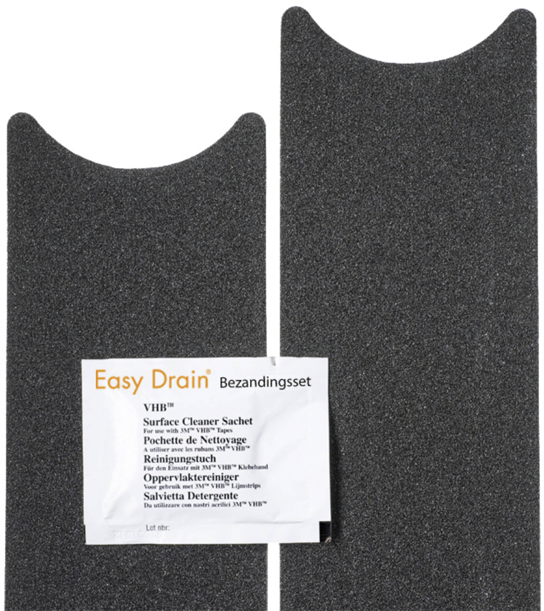 Easy Drain bezandingsset voor multi en fixt 50 tm. 120 cm.