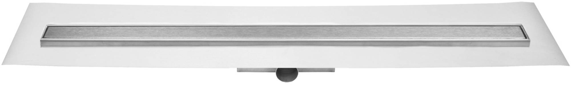 Easy Drain Compact FF Zero afvoergoot 90 x 6 cm. zijaansluiting Rvs