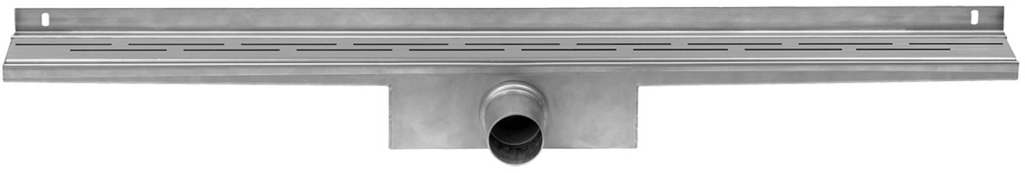 Easy Drain Compact Wall 50 afvoergoot 6x80 cm zijuitlaat RVS