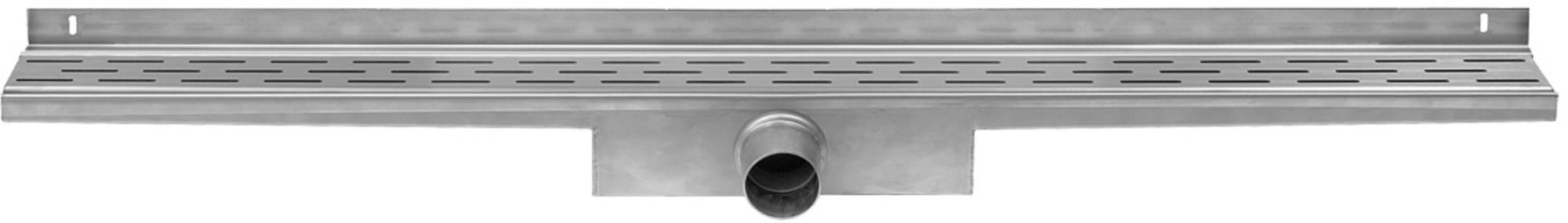 Easy Drain Compact Wall 30 afvoergoot 6x90 cm zijuitlaat RVS
