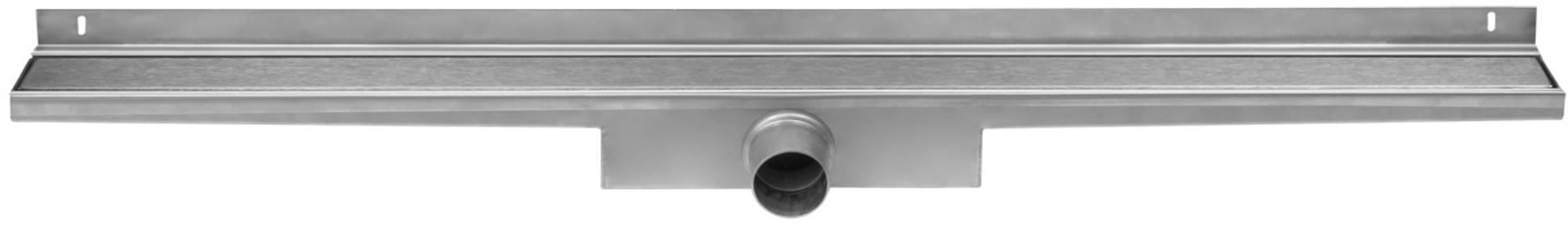 Easy Drain Compact Wall Zero afvoergoot 90 x 6 cm. zijaansluiting Rvs