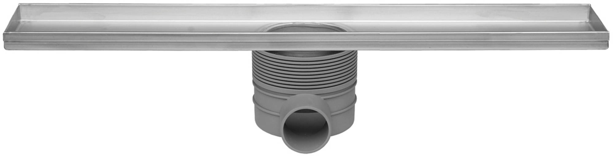 Easy Drain Multi inbouwdeel drain 80 cm zonder rooster RVS