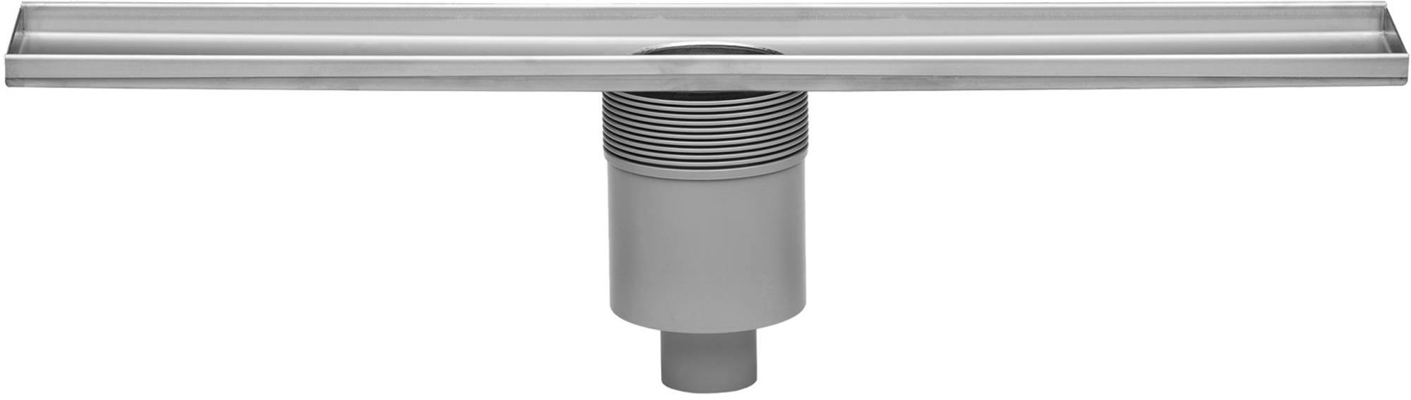 Easy Drain Multi douchegoot 80 cm. onderuitloop zonder rooster Rvs