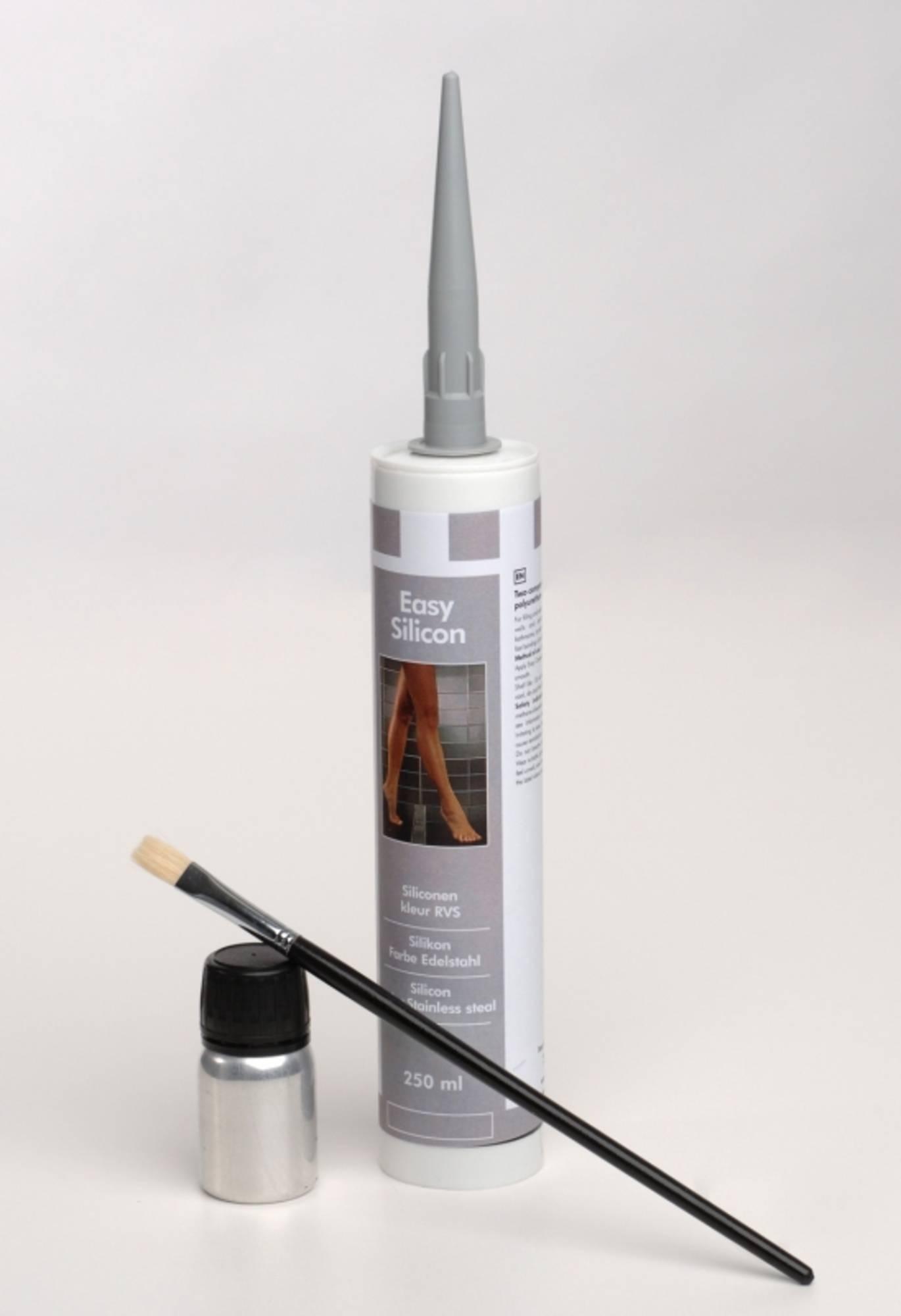 Easy Drain easy silicon afdichting 290ml. RVS kleur