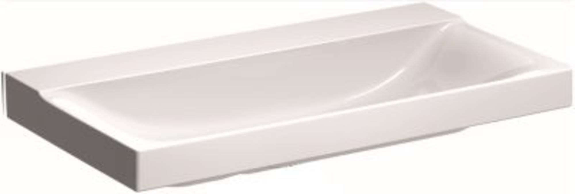 Sphinx 420 wastafel zonder kraangat 90x48 cm wit