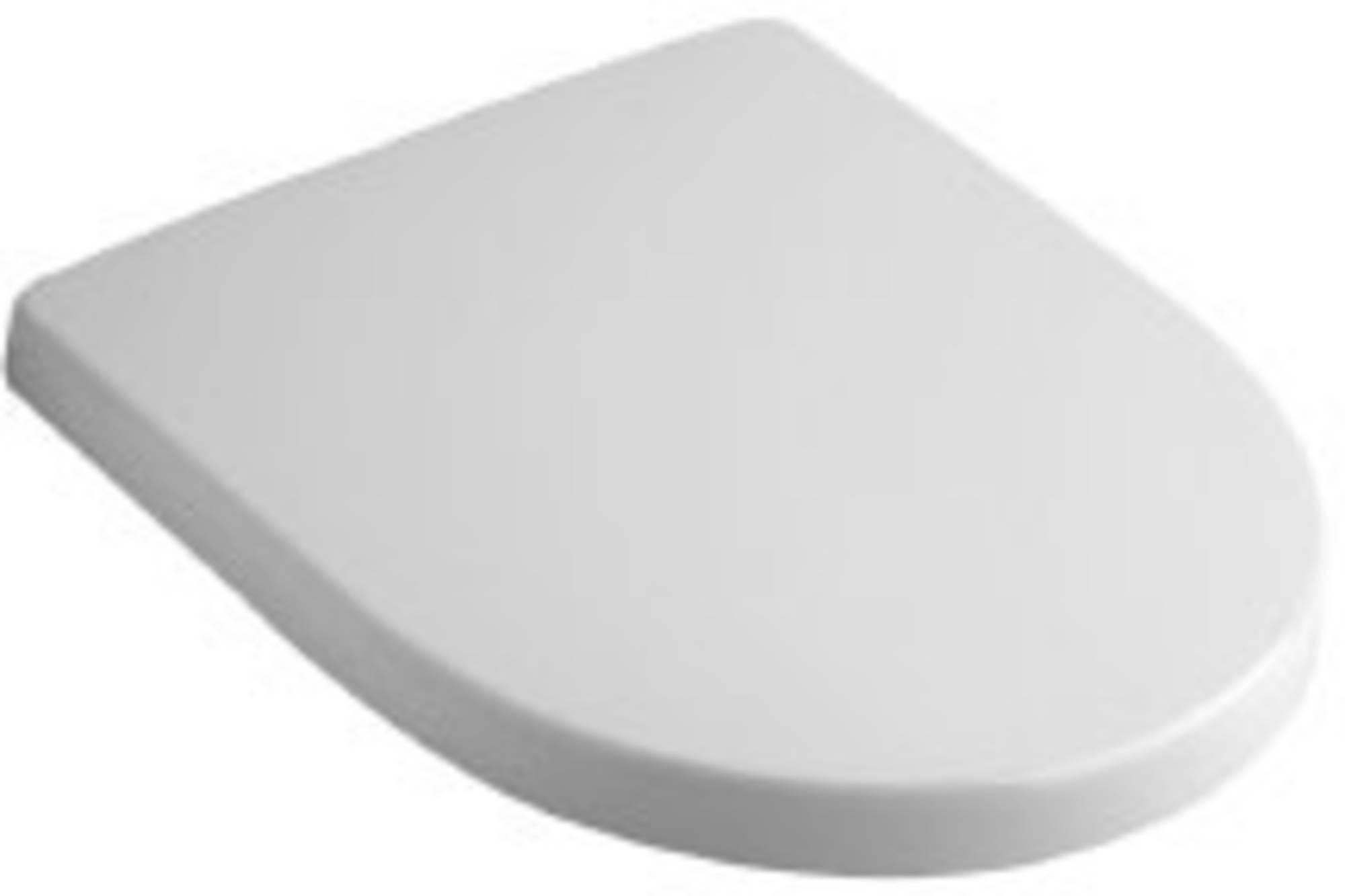 Sphinx Serie 300 basic topfix closetzitting met deksel, wit