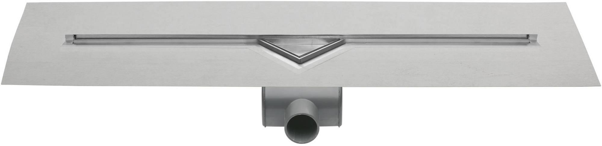 Easy Drain S-Line douchegoot 80 cm met rooster zero voor tegel