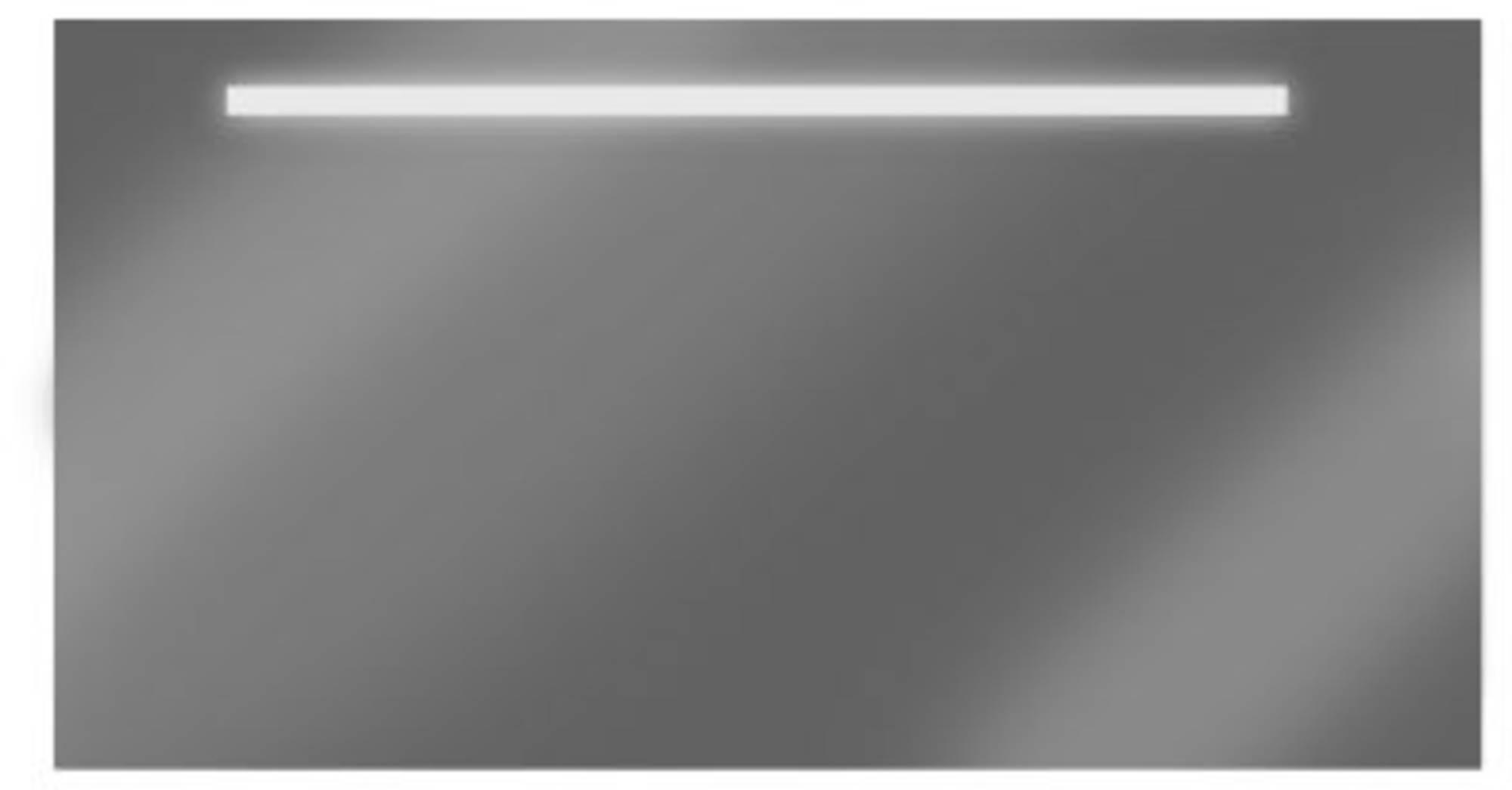 Looox spiegel 110 x 60 cm.met verlichting en verwarming