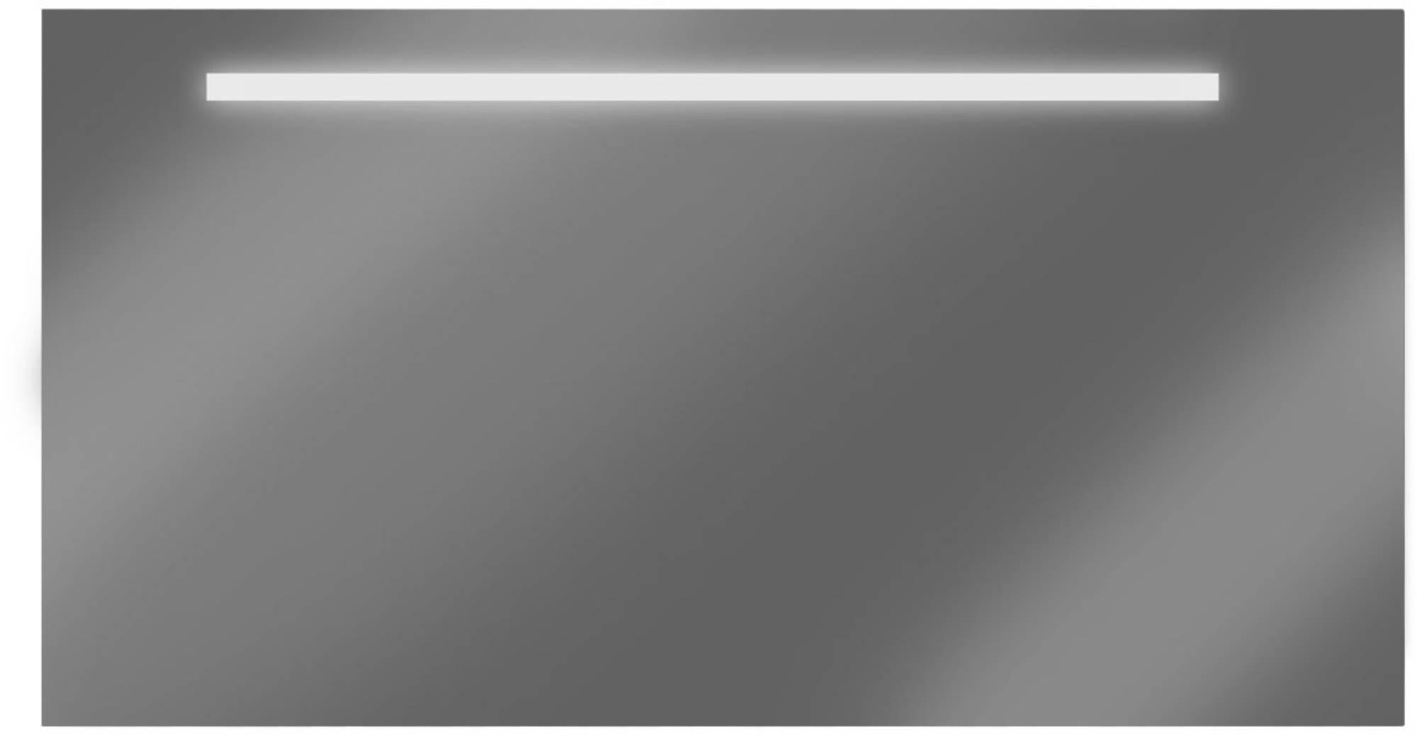 Looox spiegel 180x60 cm. met verlichting met verwarming