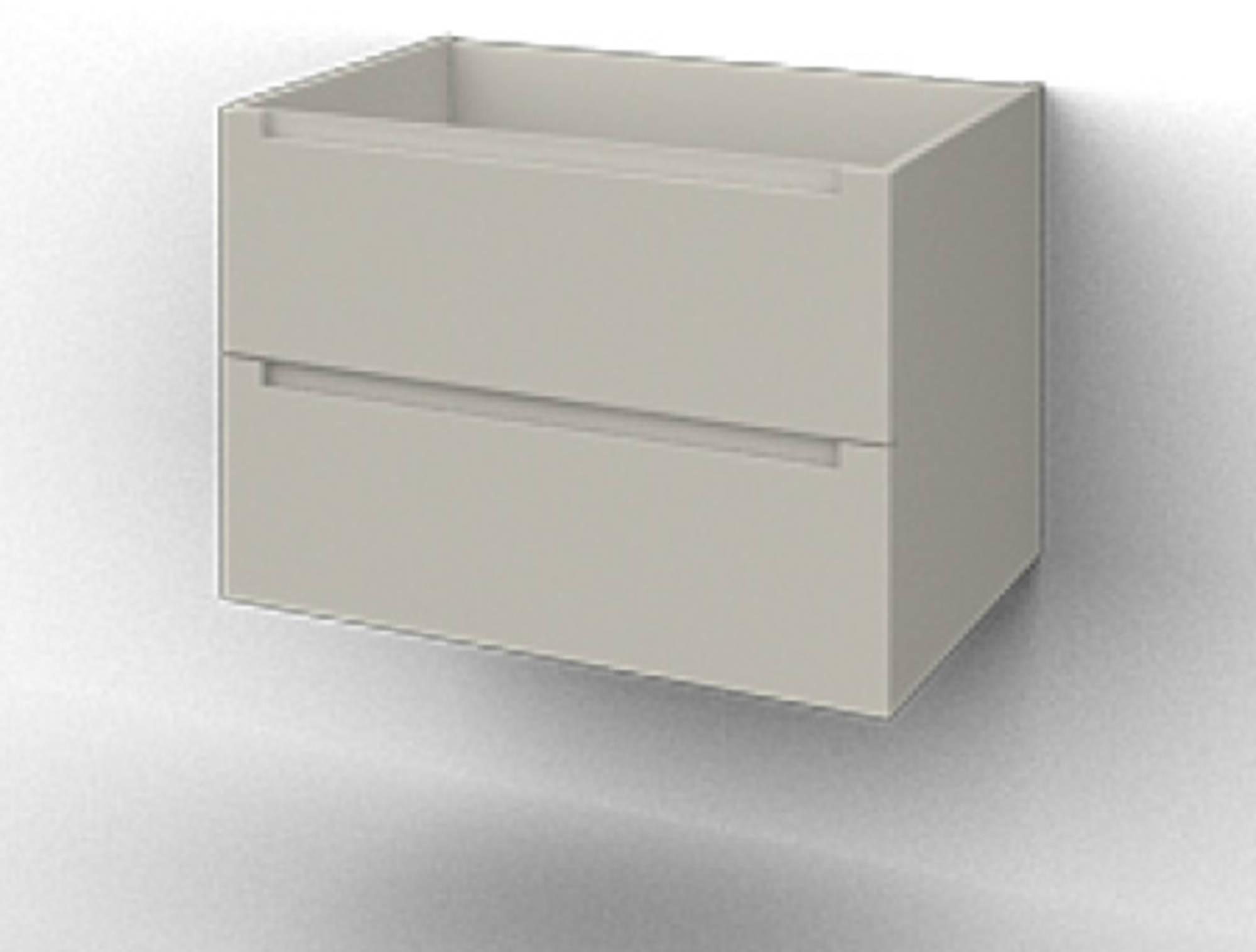 Ben Avenue Wastafelonderkast 2 lades 56x48,1x53,3 cm Mat Wit