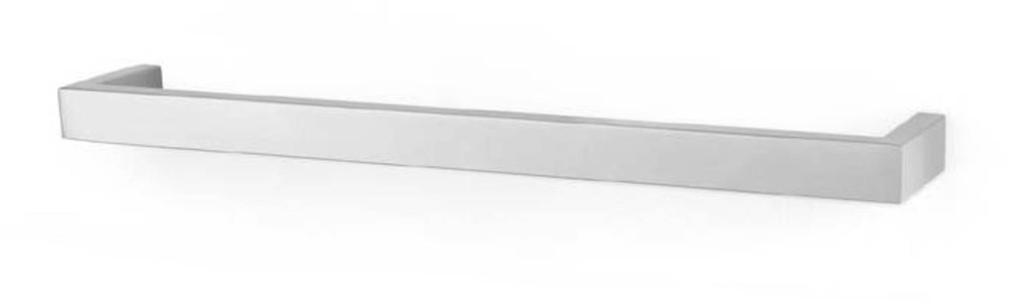 ZACK Linea handdoekstang M 46,5x7,7x3 cm Geborsteld RVS