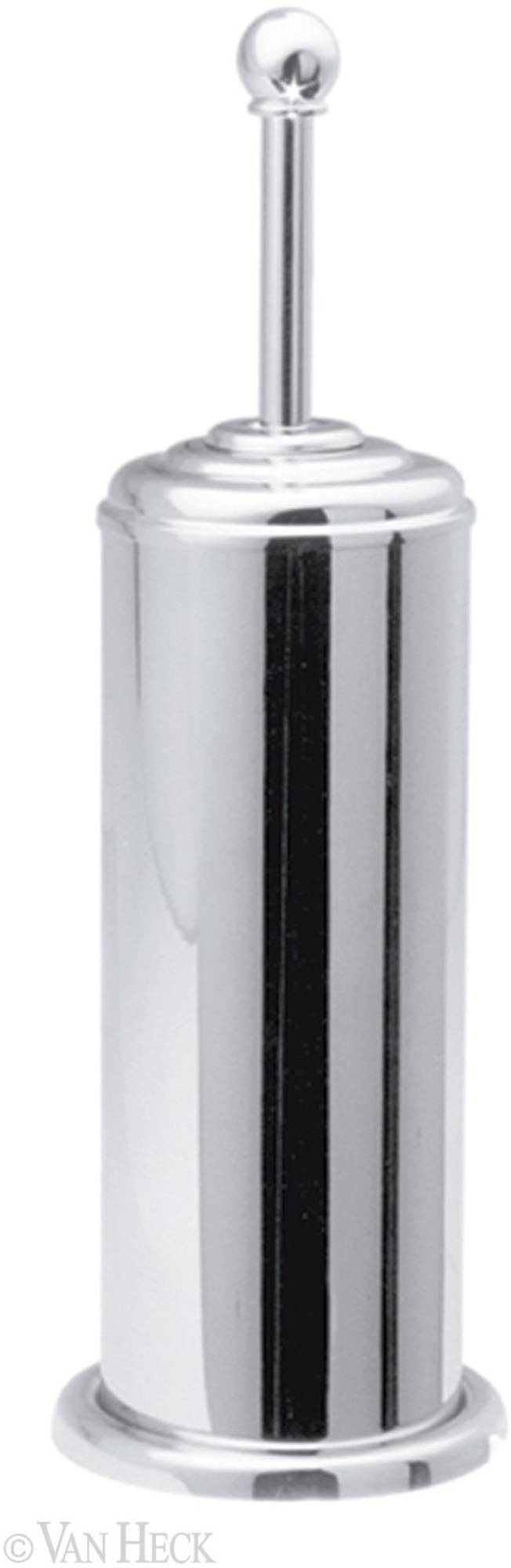 Van Heck Traditional borstelgarnituur 11,5x35x11,5 chroom