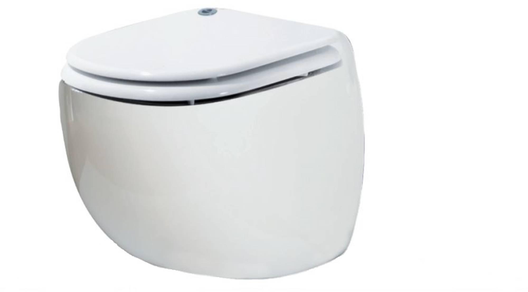 Productafbeelding van Sanibroyeur Sanicompact comfort eco closet met faecalienvermaler m/zitting Wit
