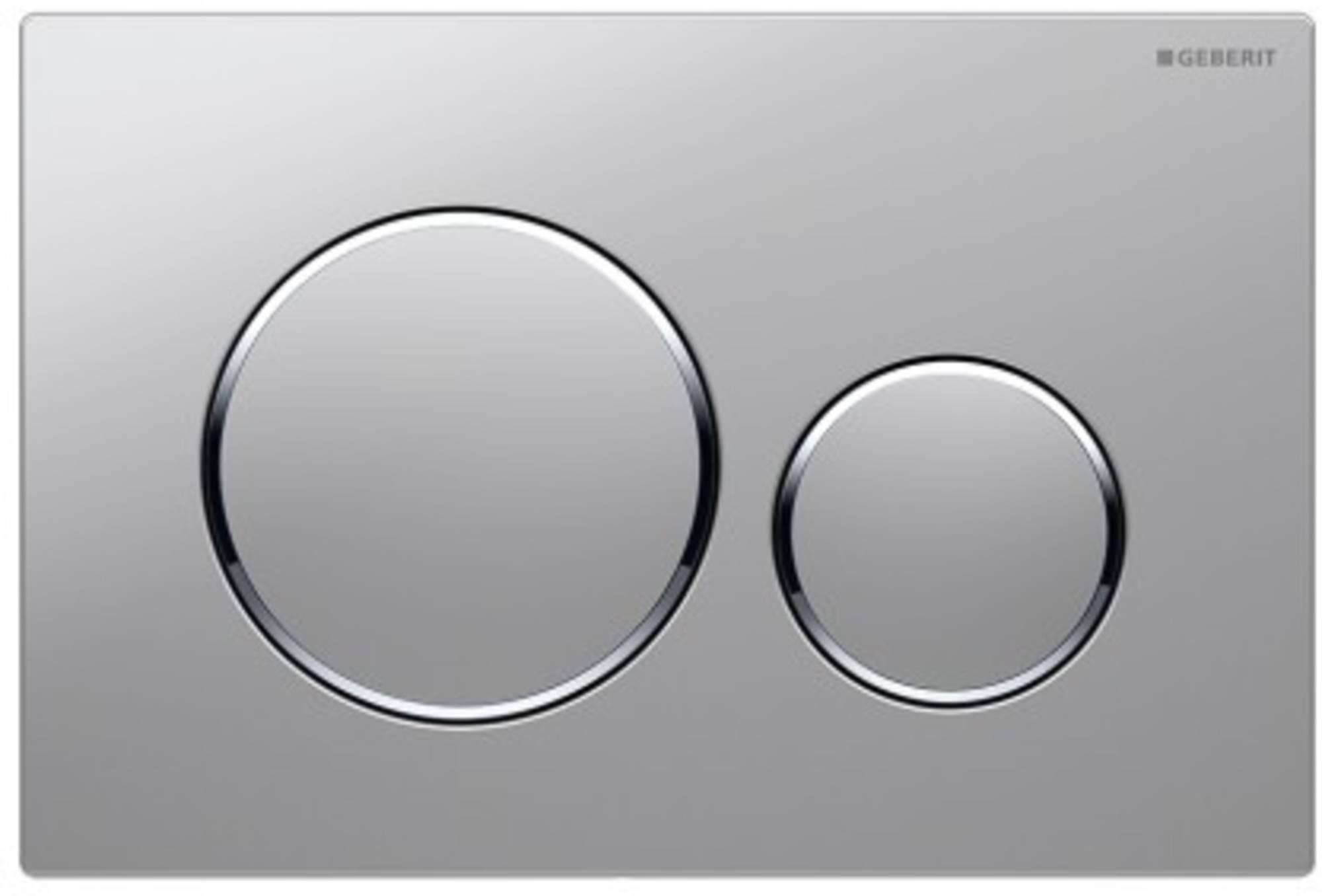 Geberit Sigma20 bedieningsplaat kleur:plaat-ring-knop match-ch-match