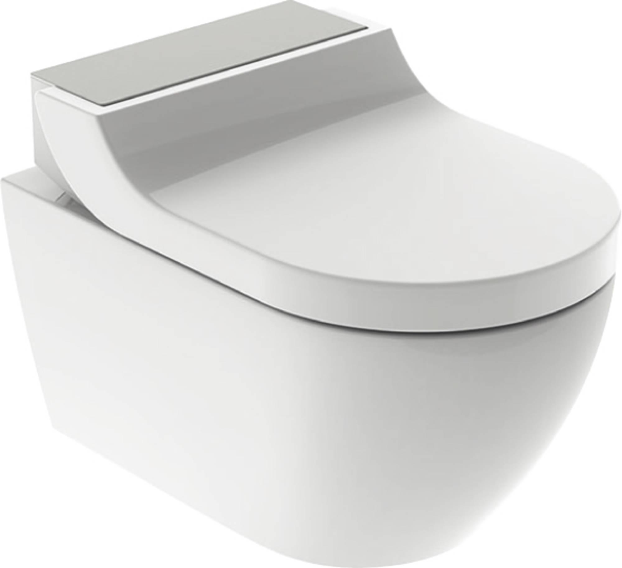 Productafbeelding van Douche WC Geberit AquaClean Tuma Comfort Compleet Rimfree Geborsteld RVS