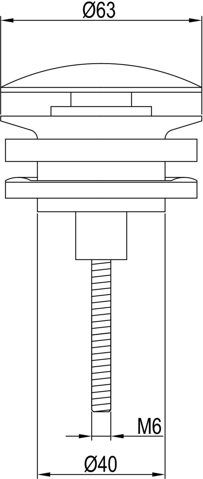 Ben Pop Up Wastafelplug afsluitbaar 5/4 inch Geborsteld Messing
