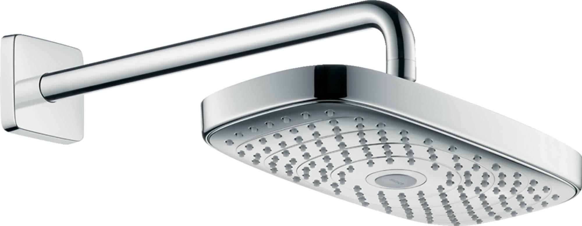 Hansgrohe Raindance Select E 300 2jet hoofddouche douchearm Chroom