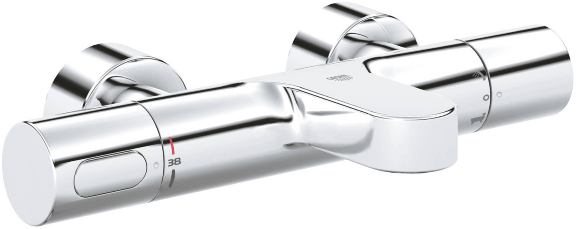 Grohe Grohtherm 3000 Cosmopolitan Badthermostaat Chroom