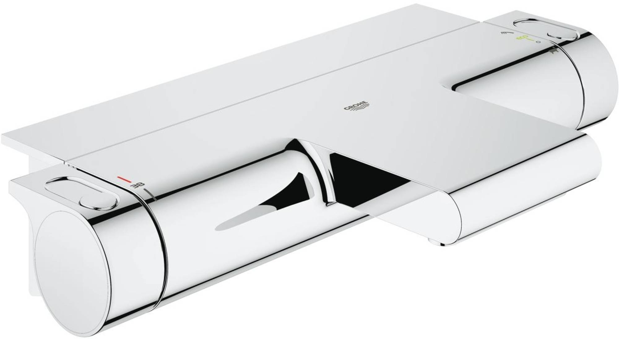 Grohe Grohtherm 2000 New Badthermostaat met planchet Chroom