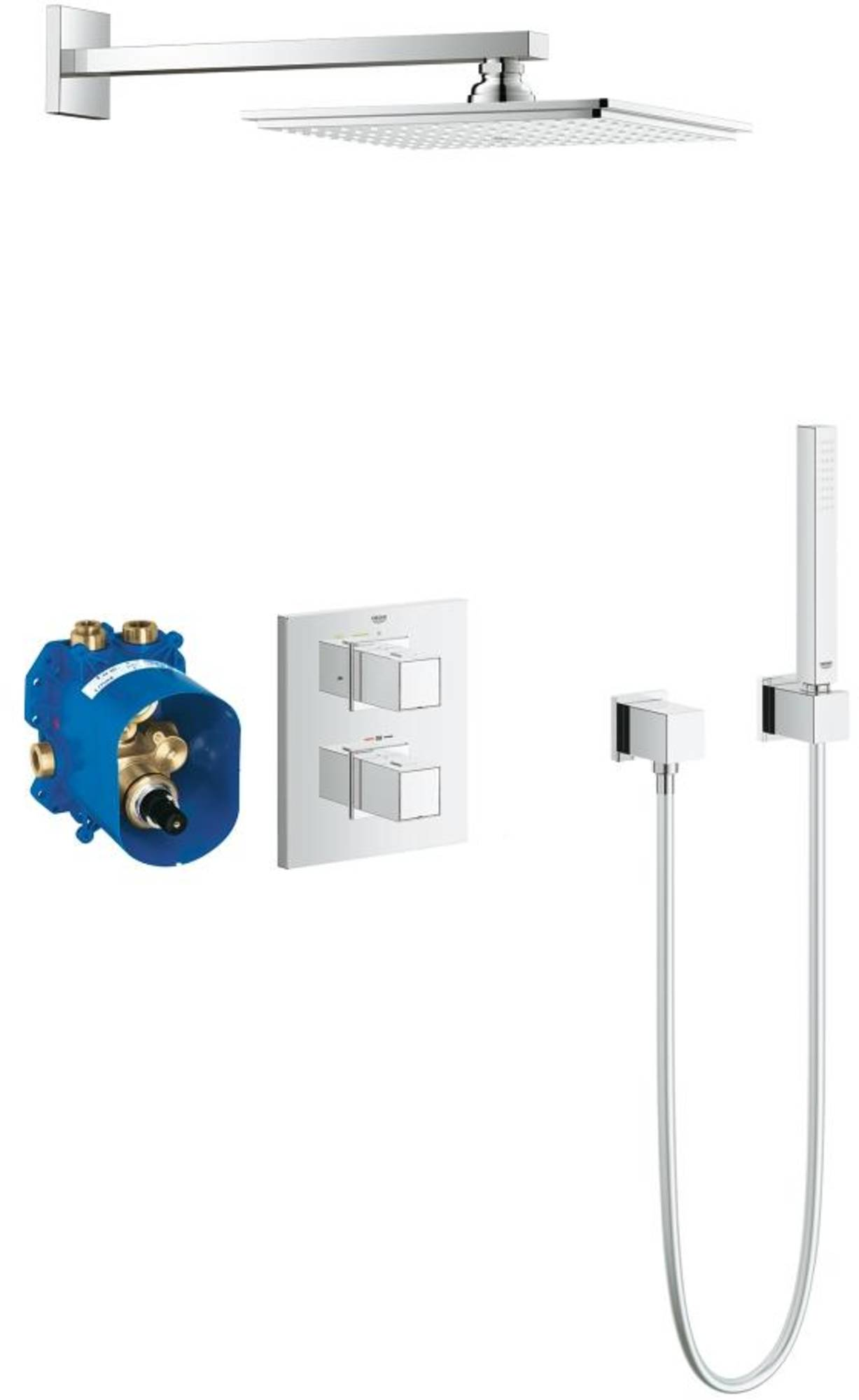 Grohe Grohtherm Cube Perfect Shower Set Chroom