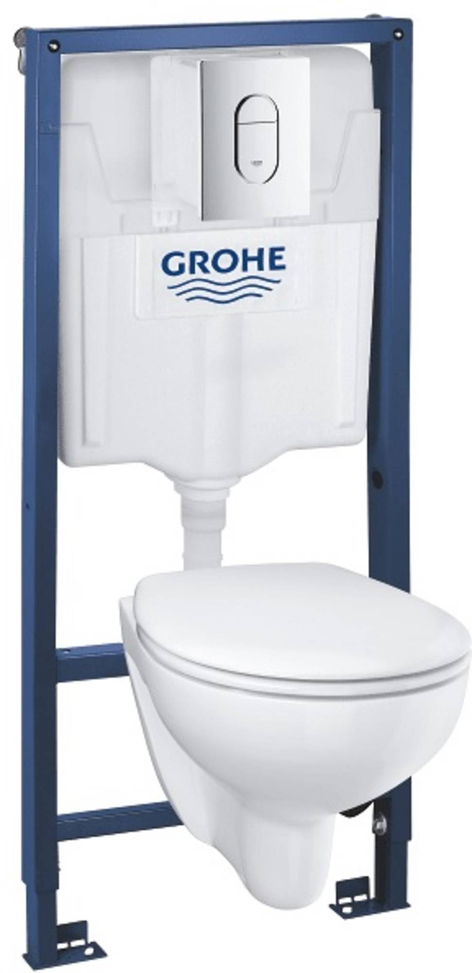 Grohe Bau Arena Wc-pack 4-in-1 Wit