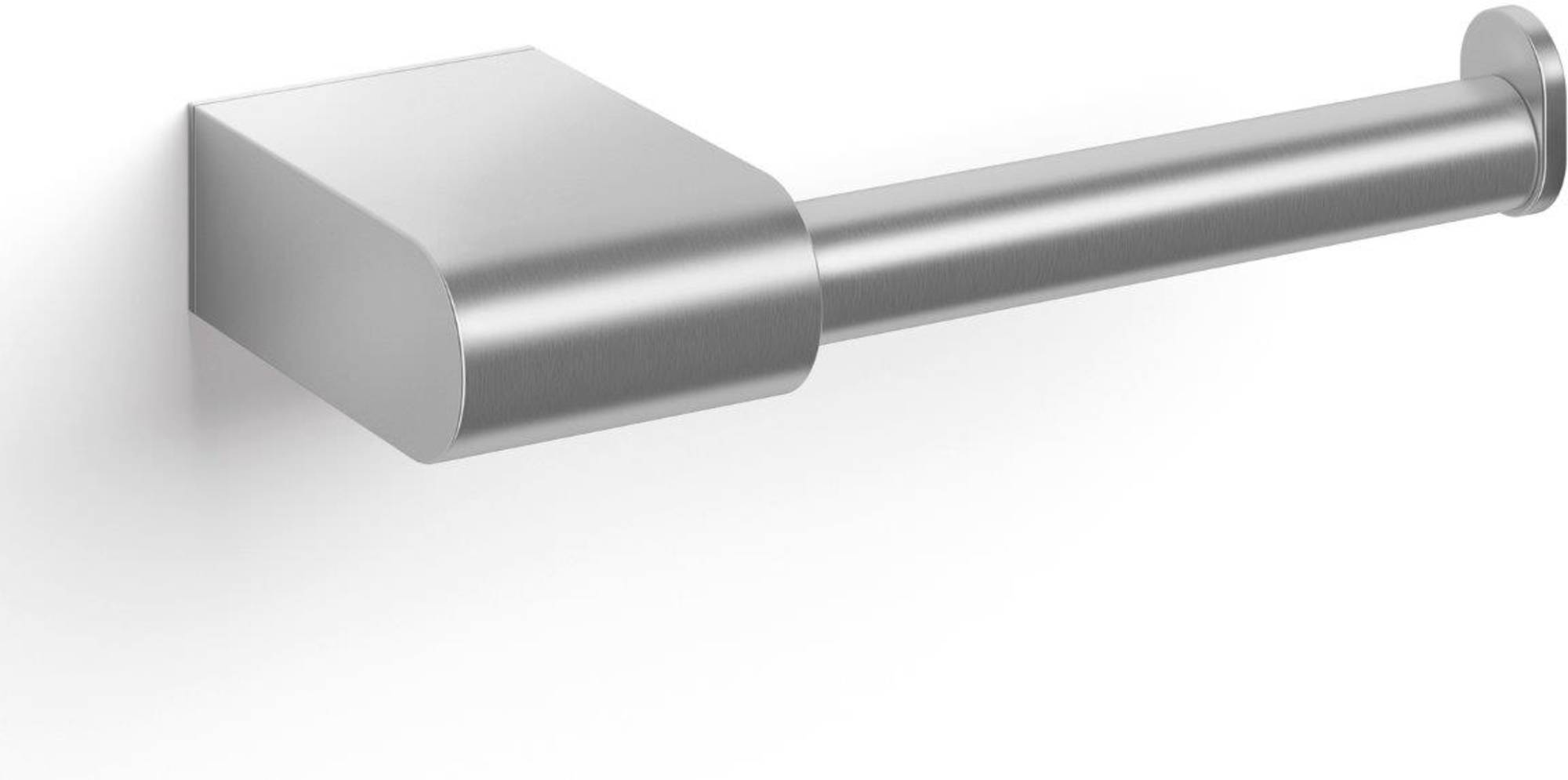 ZACK Atore Toiletrolhouder Geborsteld RVS