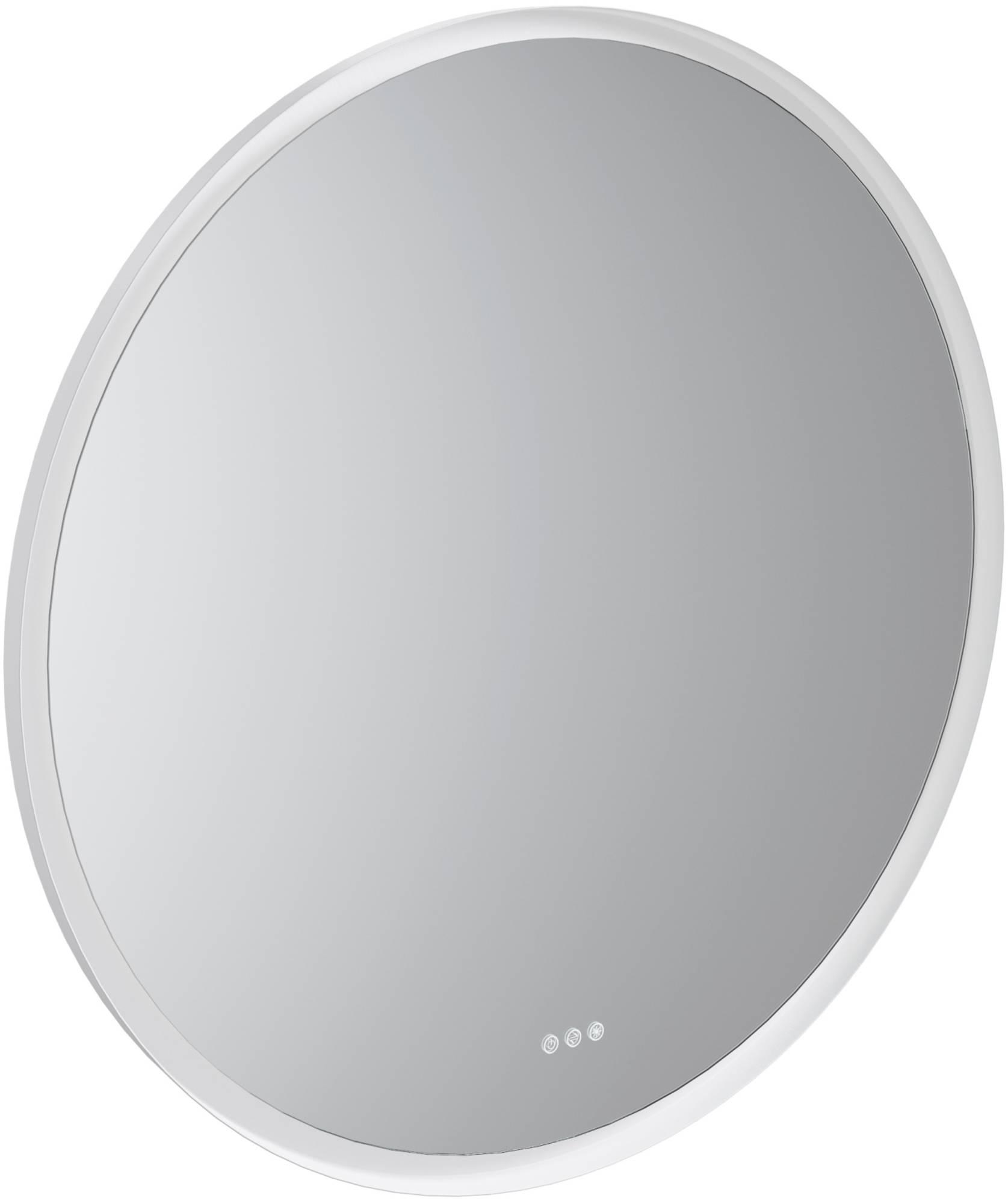 Thebalux Giro Spiegel Ø 110x4 cm Wit