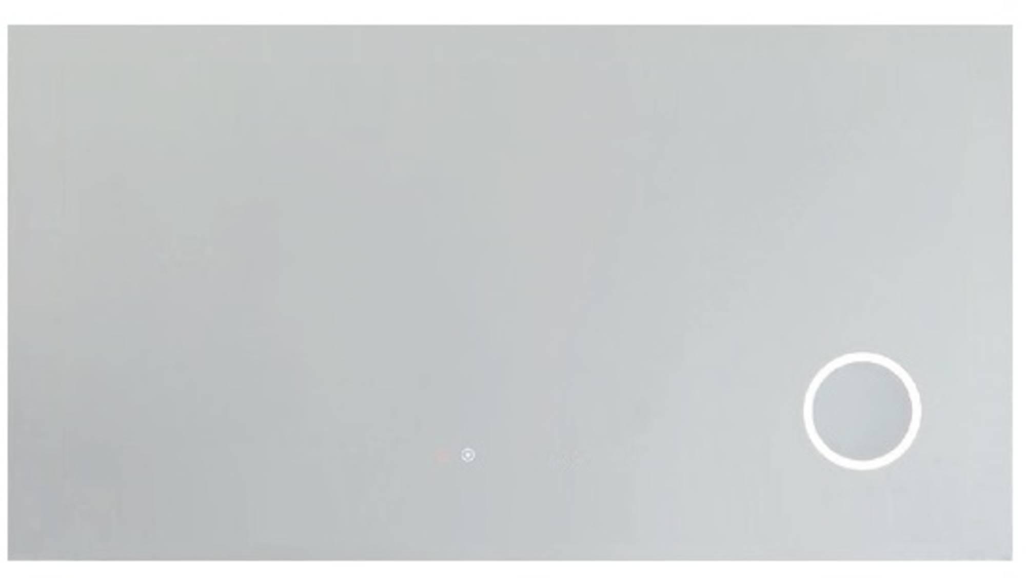 Thebalux Line 45 Spiegel 100x3x70 cm Transparant