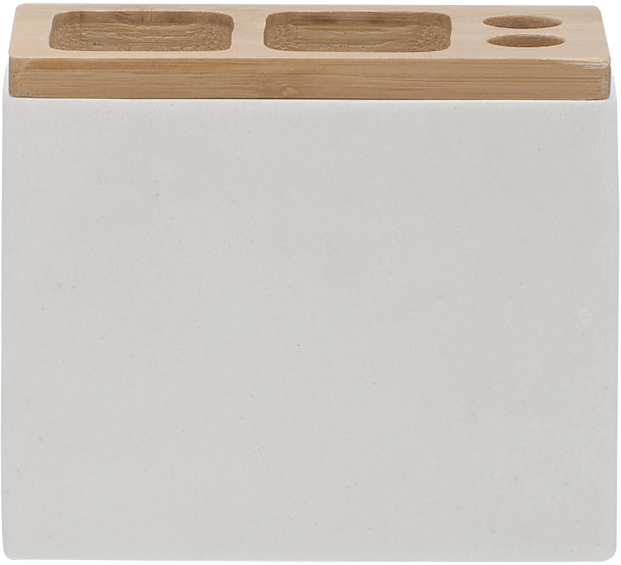 Sealskin GRACE Tandenborstelhouder (tbv electrische tandenborstel) 12x6x10 cm polyresin wit
