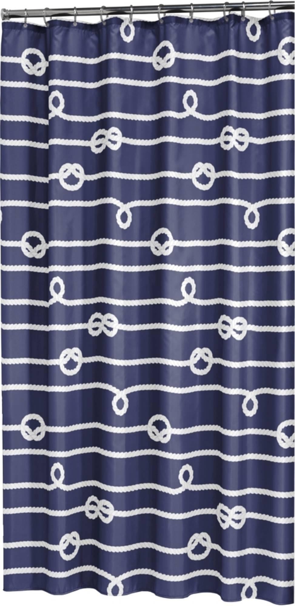 Sealskin Rope Douchegordijn 180 x 200cm blauw