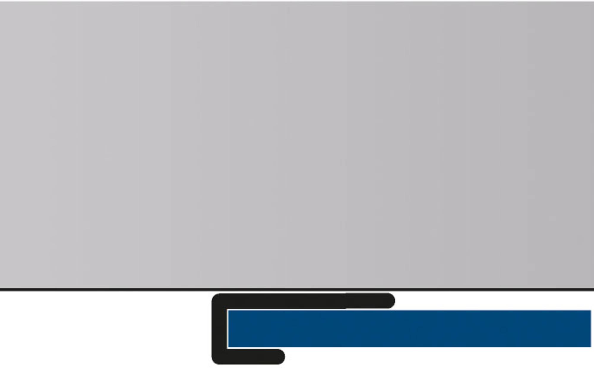 Duschprofi RenoDeco afsluitprofiel recht 1,7x255 cm mat zwart