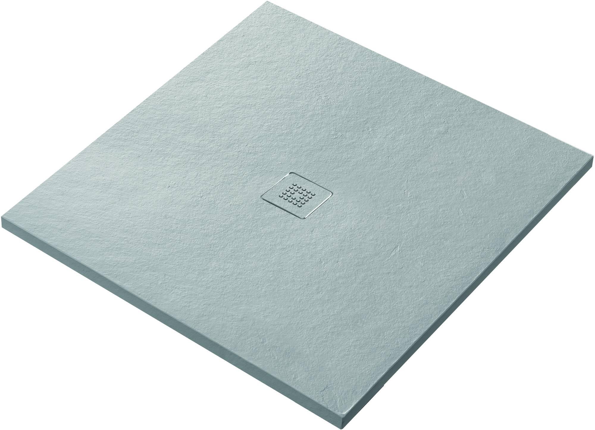 Ben Avira Douchevloer Akron 100x100x2,6 cm Blanco