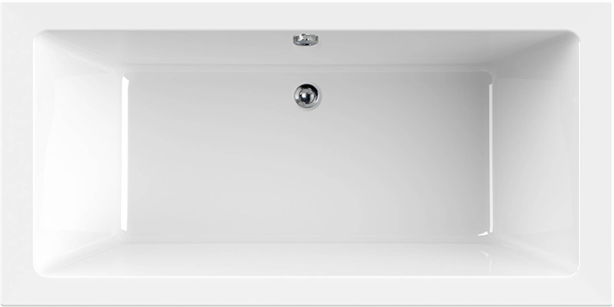 Ben Balux Ligbad Acryl 190x90 cm Mat Wit