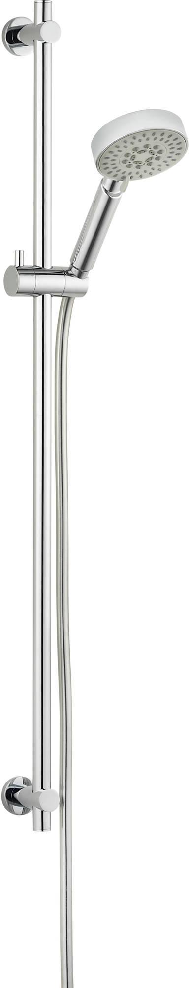 Ben glijstangset chroom 90cm