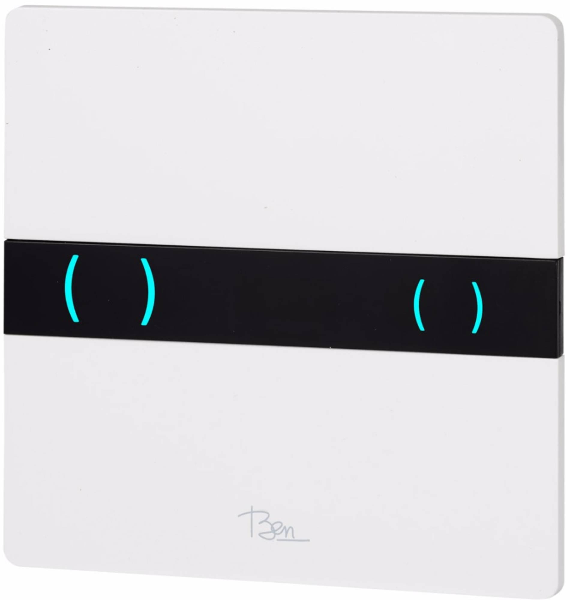 Ben Tronic bedieningspaneel infrarood bediening tbv BPF kunststof glans wit
