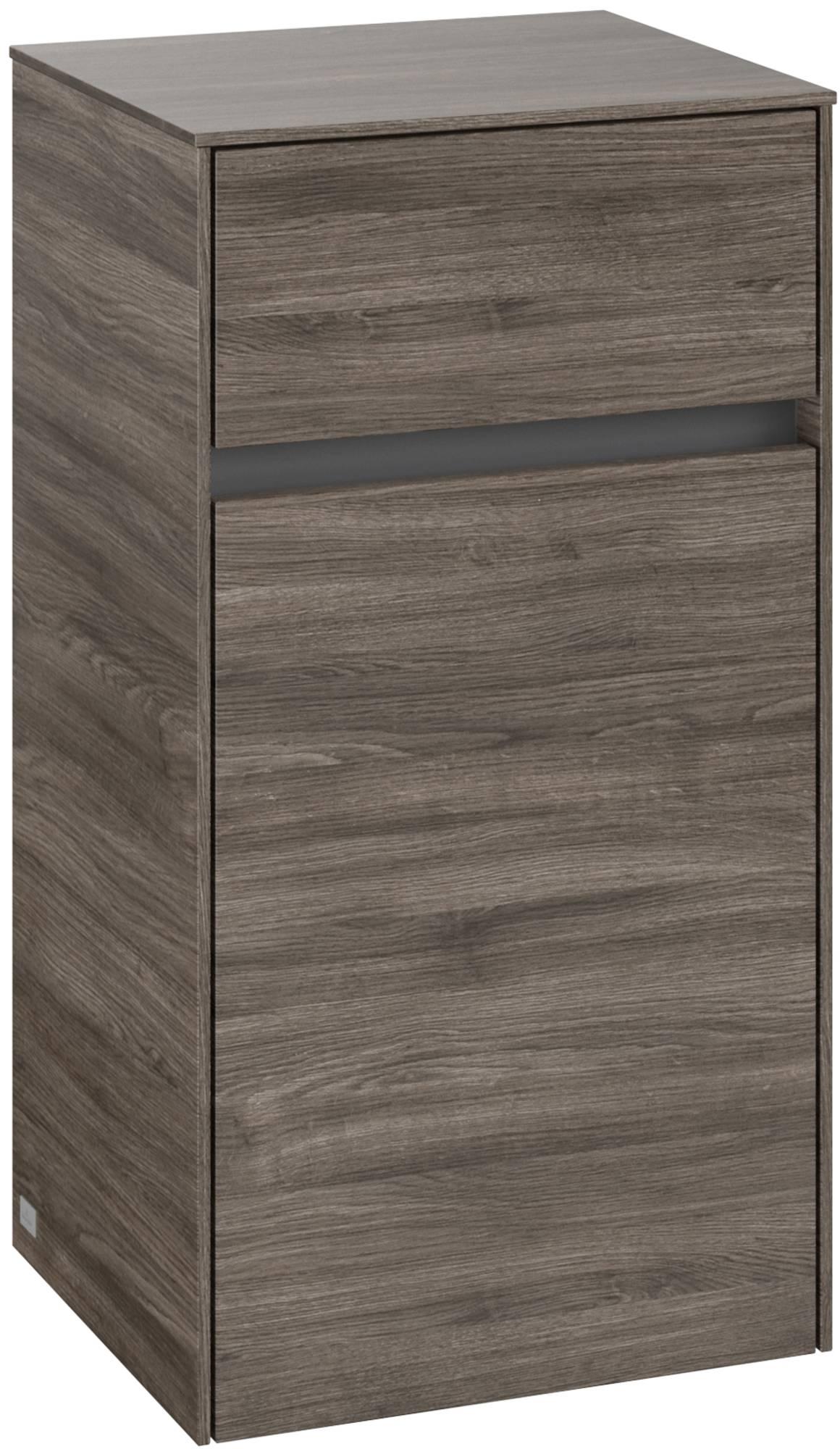 Villeroy & Boch Collaro Zijkast 40,4x34,9x74,8 cm Stone Oak
