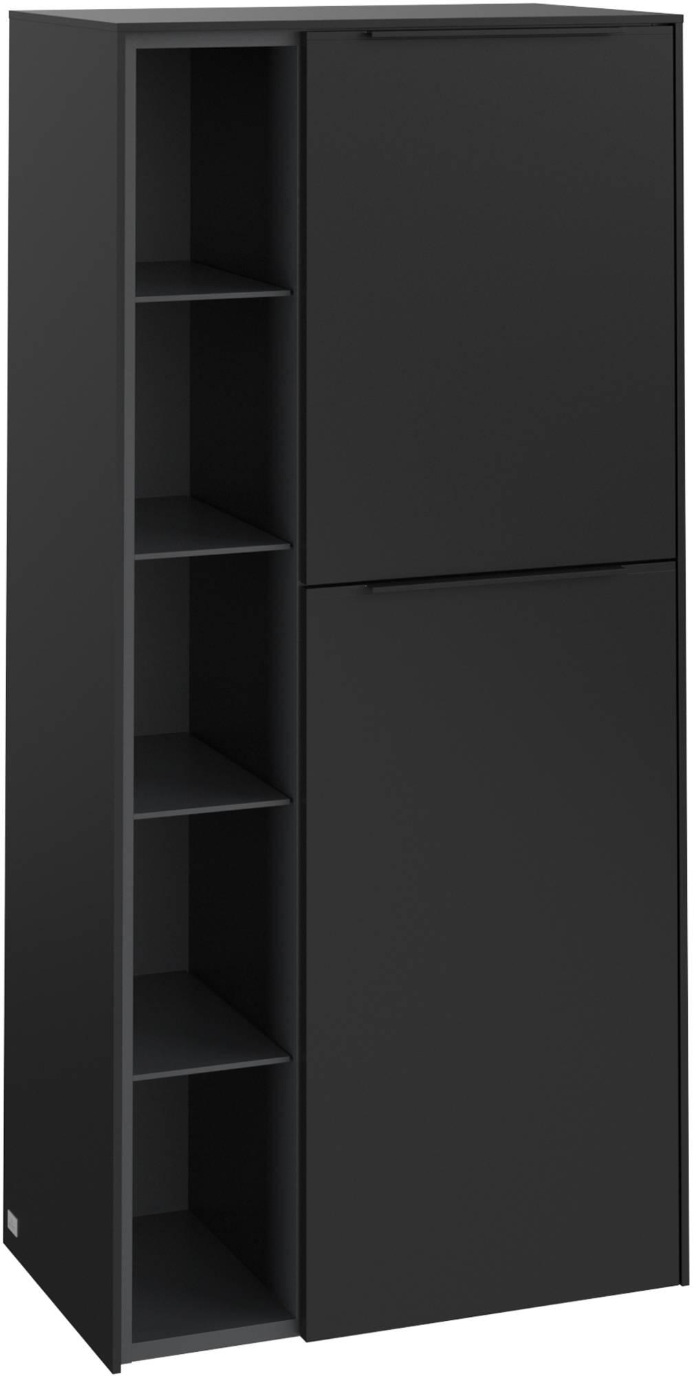 Villeroy & Boch Subway 3.0 Middenkast 57,4x36,2x120 cm Volcano Black