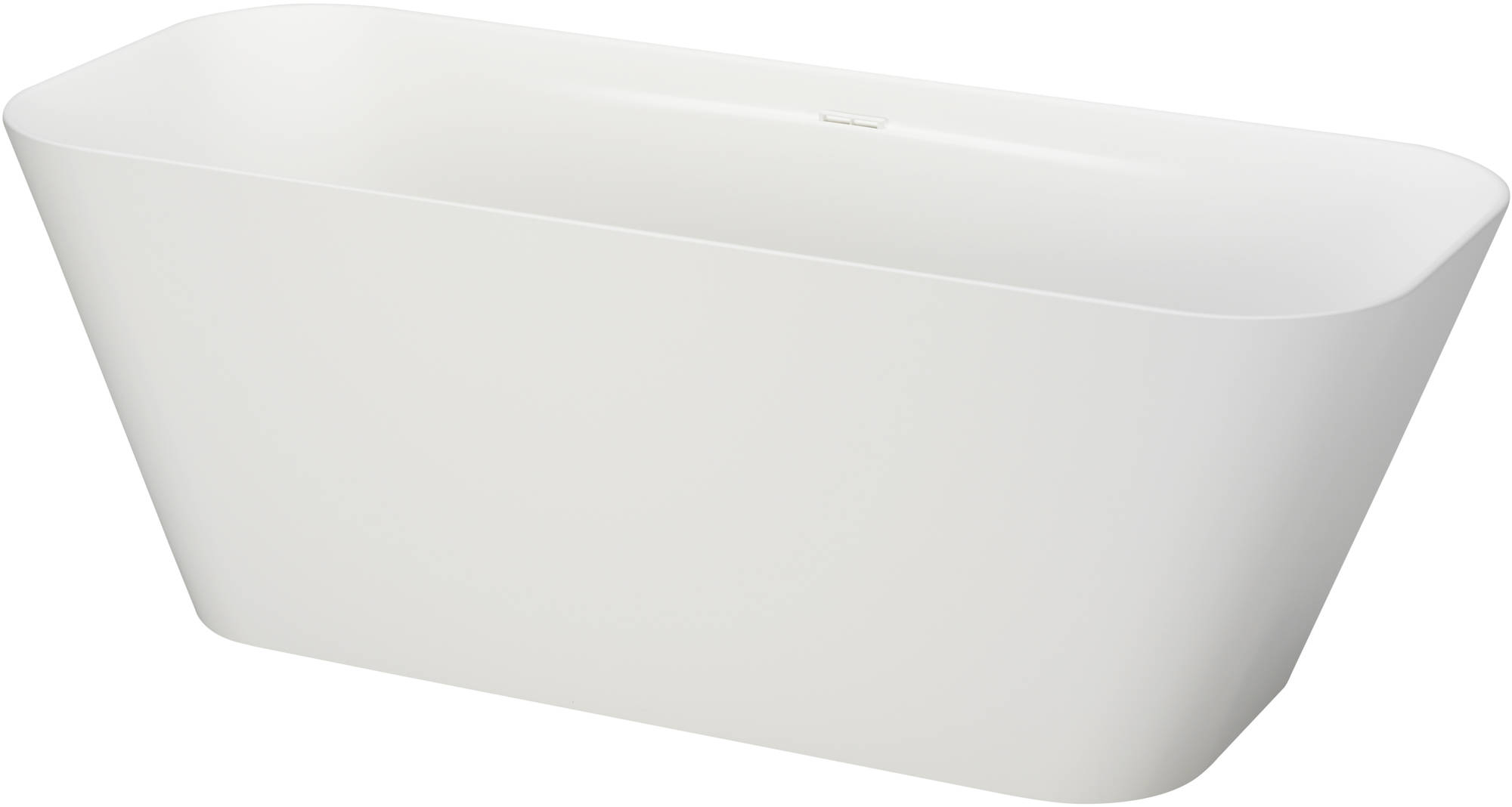 Ben Calp vrijstaand bad 170x70 cm Solid Surface Mat Wit
