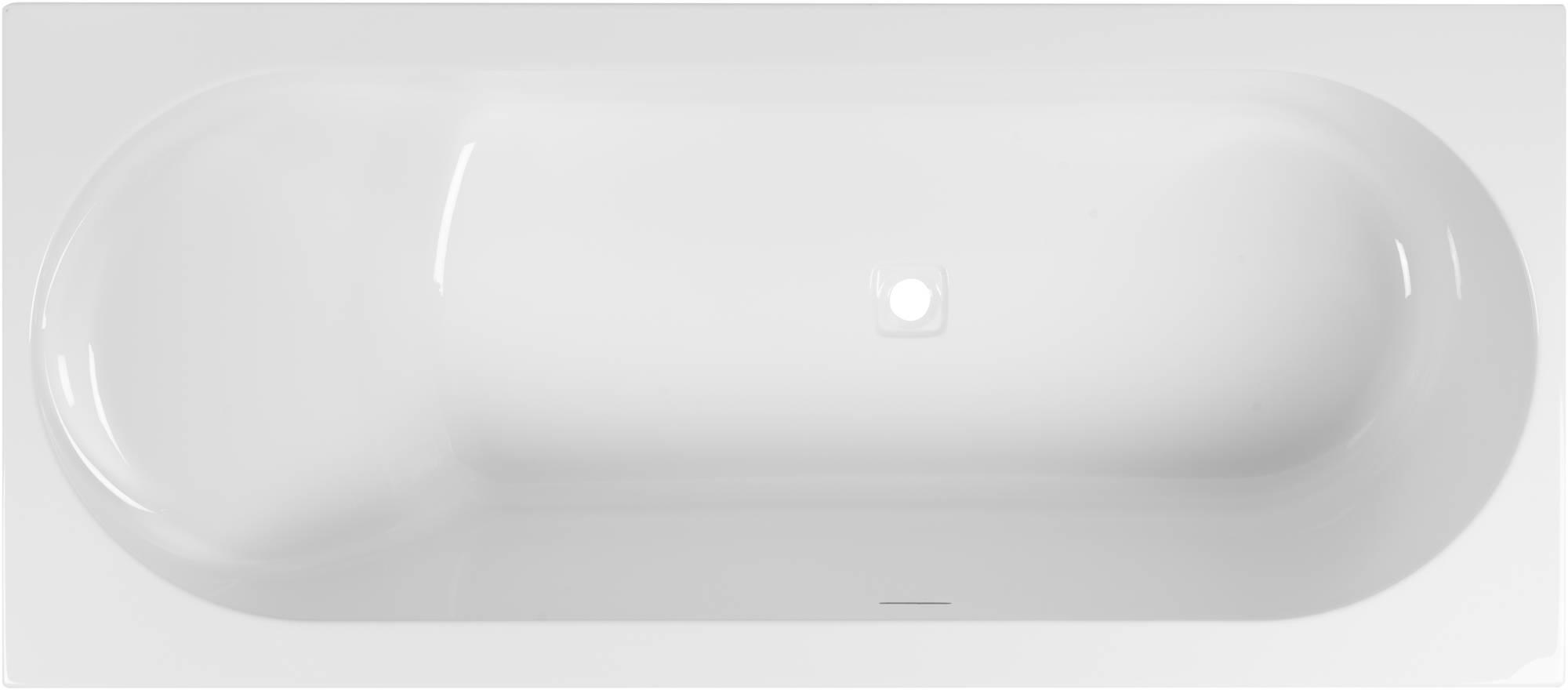 Ben Cenelio Design Bad 180x80x65 cm Links Glans Wit