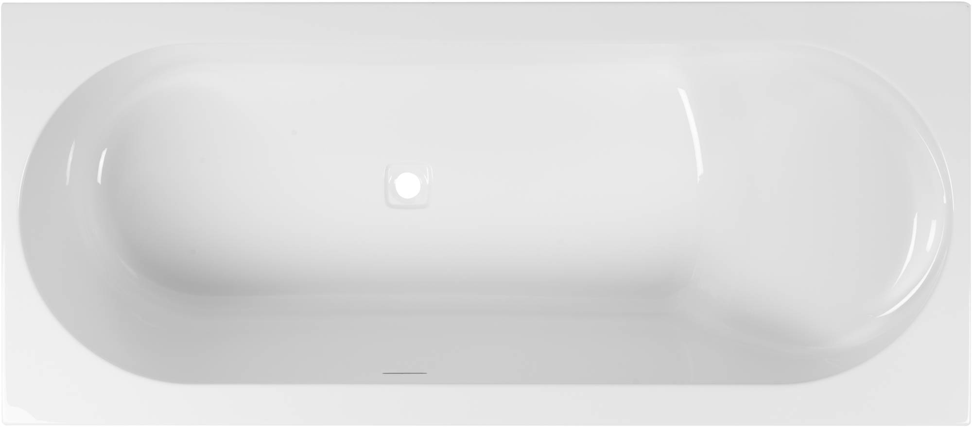 Ben Cenelio Design Bad 180x80x65 cm Rechts Glans Wit