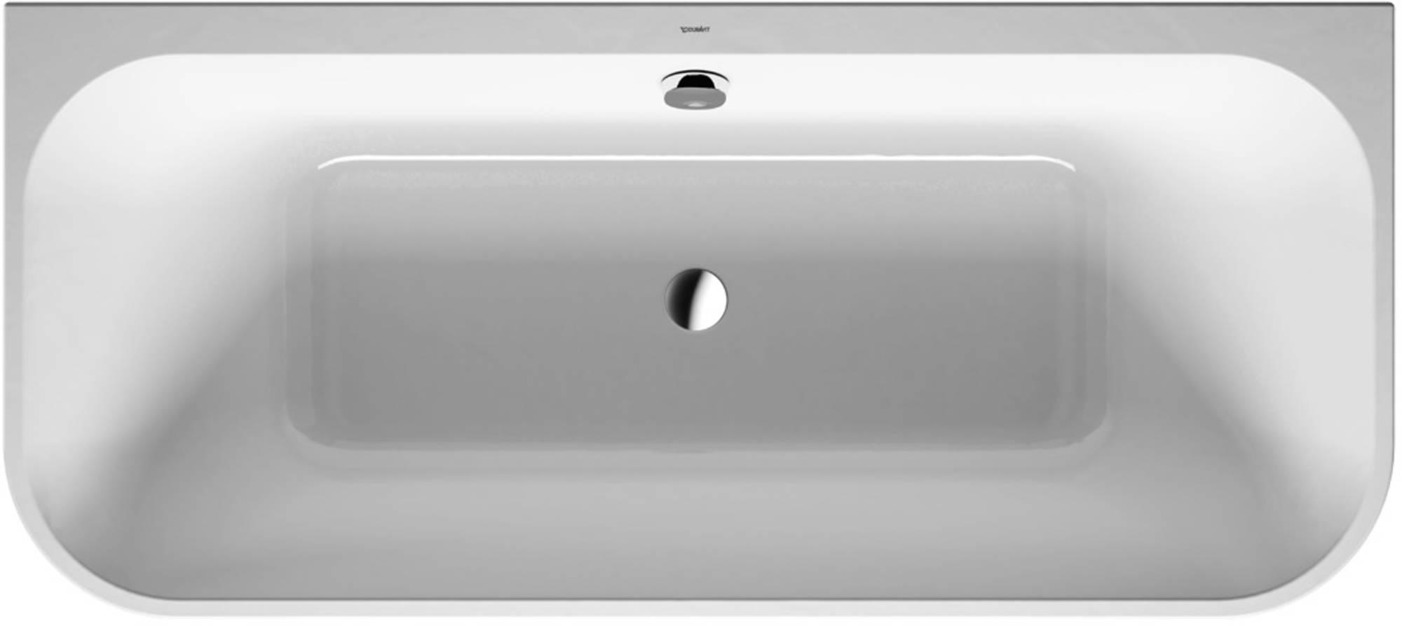 Duravit Happy D.2 Bad (zonder systeem) Rechthoek 180x80 cm Wit