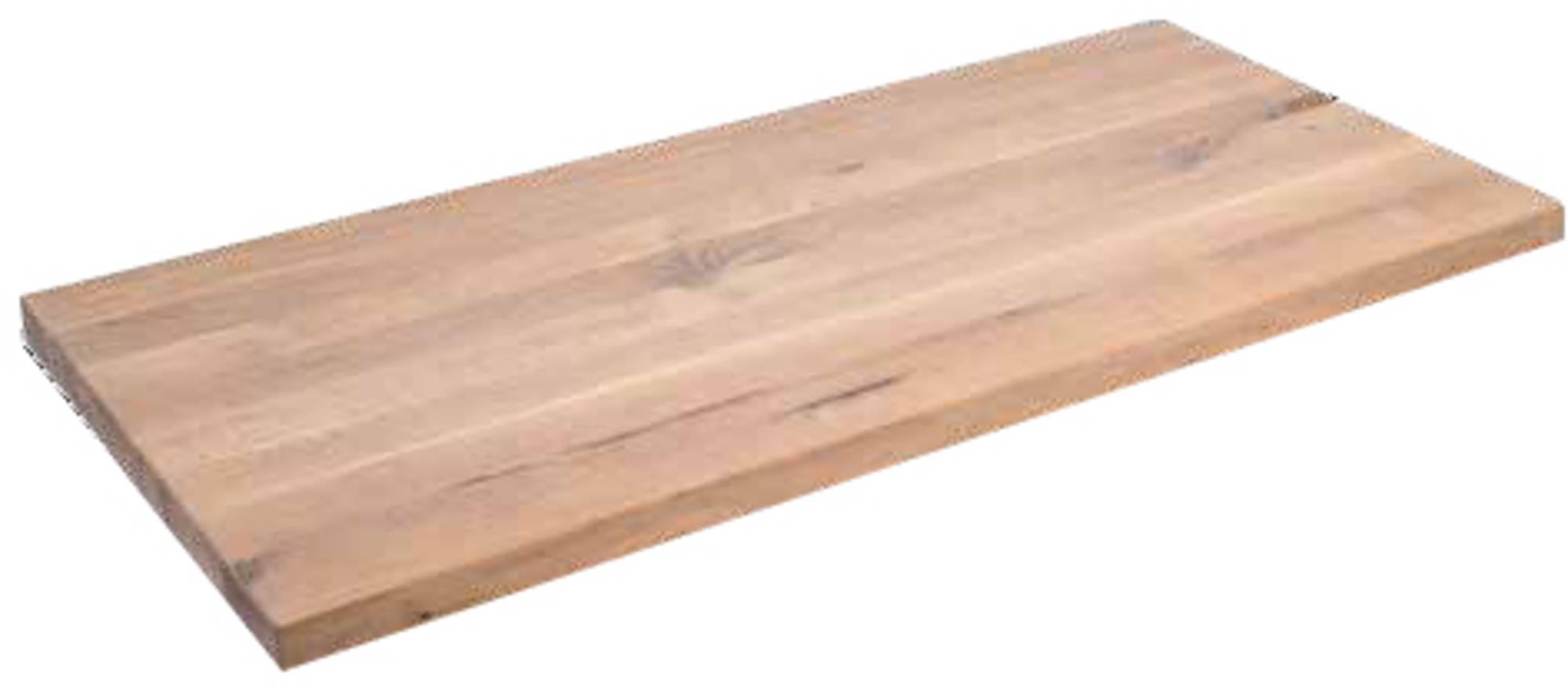 Van Heck Wastafelblad 113x53x4,5 cm Eiken